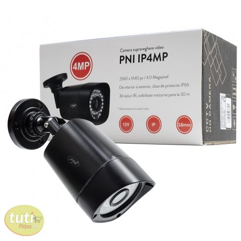 PNI 4.0Mp-es, SuperHD IP csőkamera (PNI-IP4MP265)