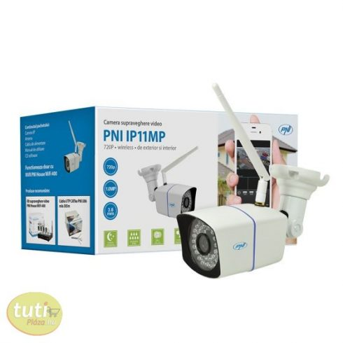 PNI 1.0Mp-es Hd, WiFi, IP csőkamera (PNI-WF11MP)